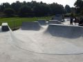 Bourne Valley skatepark - bowl, Poole
