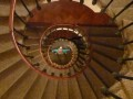 CJ and the spiral staircase