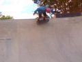 Damo, backside wallride at the new Oxford skatepark