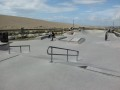 The new skatepark by Chessil Beach in Portland