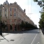 The streets were so quiet in Vilnius - one of the main roads to Cathedral Square