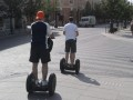 Segways are used to get around in Vilnius