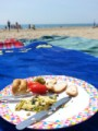 A sunday beach picnic
