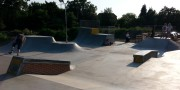 The new skatepark extension at Verwood