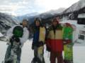 Boys, Courmayeur valley - the obligatory scenic shot