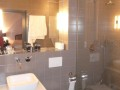 Top-class ensuite bathroom with wetroom-style shower
